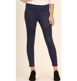 Life Long Moto Jeggings - Navy