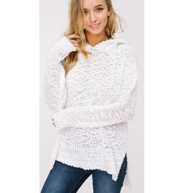 As You Are Pullover Sweater- Ivory