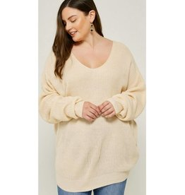 What About Love Sweater- Ivory