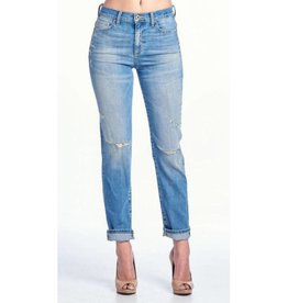 So Far Gone Boyfriend Jeans - Medium Light