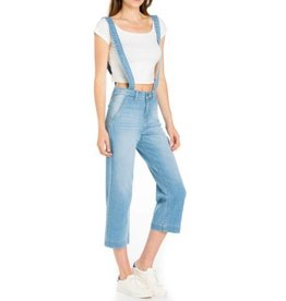 Keep The Kid In You Overalls - Light Denim
