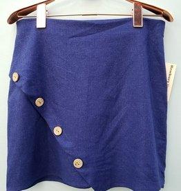 Sure Thing Skirt- Navy