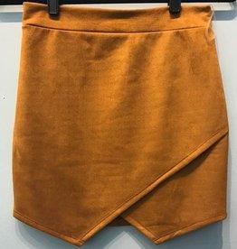 Caught Onto It Mini Skirt- Mustard