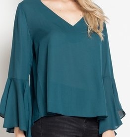 Not Like Others Top- Teal