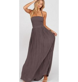 Back At It Maxi Dress-  Midnight
