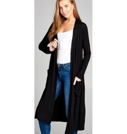 Always Need You Cardigan- Black