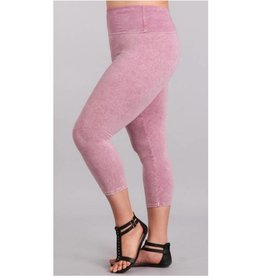 On The Double Capri Leggings - Rosepink