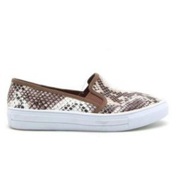 Vicious Slip-On Sneakers - Snake/Camel