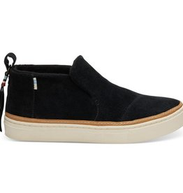 TOMS Women's Paxton Slip-Ons- Black Suede