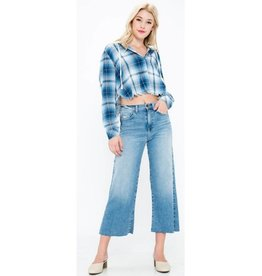 Pieces Of Me Jeans- Light Denim