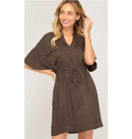 Reason For Love Dress- Olive