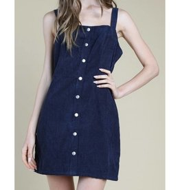 Live Your Life Dress- Navy