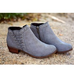 Brenna Bootie Charcoal
