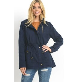 Play By Your Own Rules Jacket- Navy