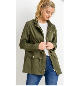 More Than Enough Jacket- Olive