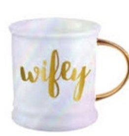 16oz Mug Footed Wifey
