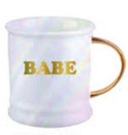 16oz Mug Footed Babe