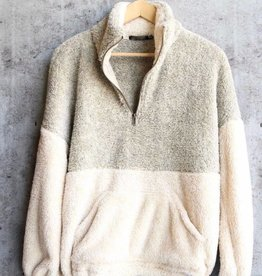 The Good Times Pullover Sweater- Oatmeal