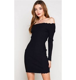 The Promise Dress- Black