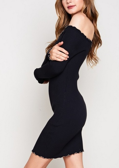 The Promise Dress- Black
