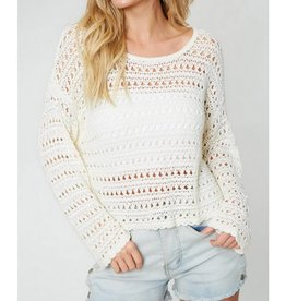I'll Be Seeing You Again Sweater- Ivory