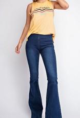 In A Twirl Flare Jeans- Denim