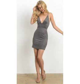 Undeniable Beauty Dress- Grey
