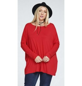 Flowy Piko Plus Top-Red