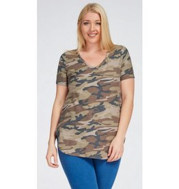 Never Compromise Top - Camo