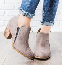 Known Beauty Booties- Charcoal