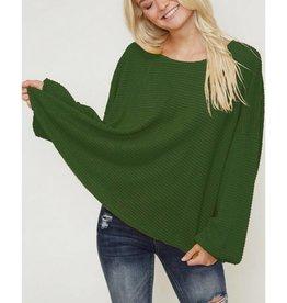 Endless Optimism Sweater- Olive