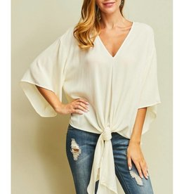 Classy Creations Top- Ivory