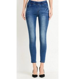 Just Trust It Skinny Jeans- Dark Wash