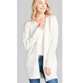 Simple Gifts Cardigan- Off White