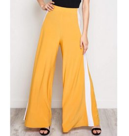 Elevate The Everyday Pants- Mustard