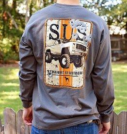 SUS Truck Sign-LS-Charcoal