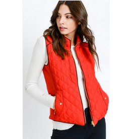 Versatile Beauty Vest- Red