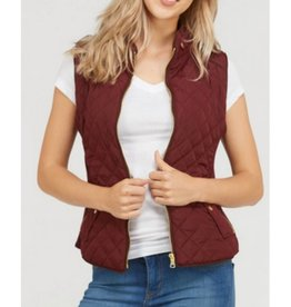 Versatile Beauty Vest- Wine