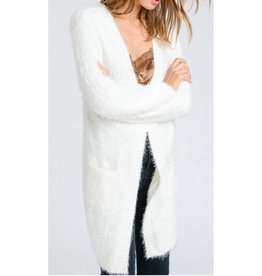 The Smile On Your Face Cardigan- Ivory