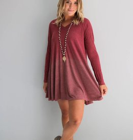 Ribbed Ombre Tunic