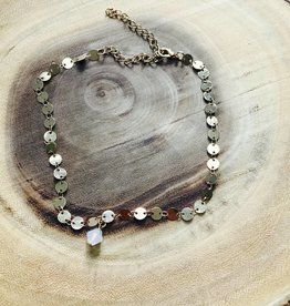 Gold Choker With Bauble