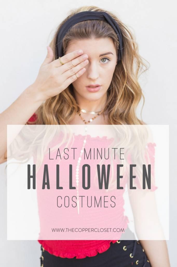 Halloween Costume Ideas in Your Closet