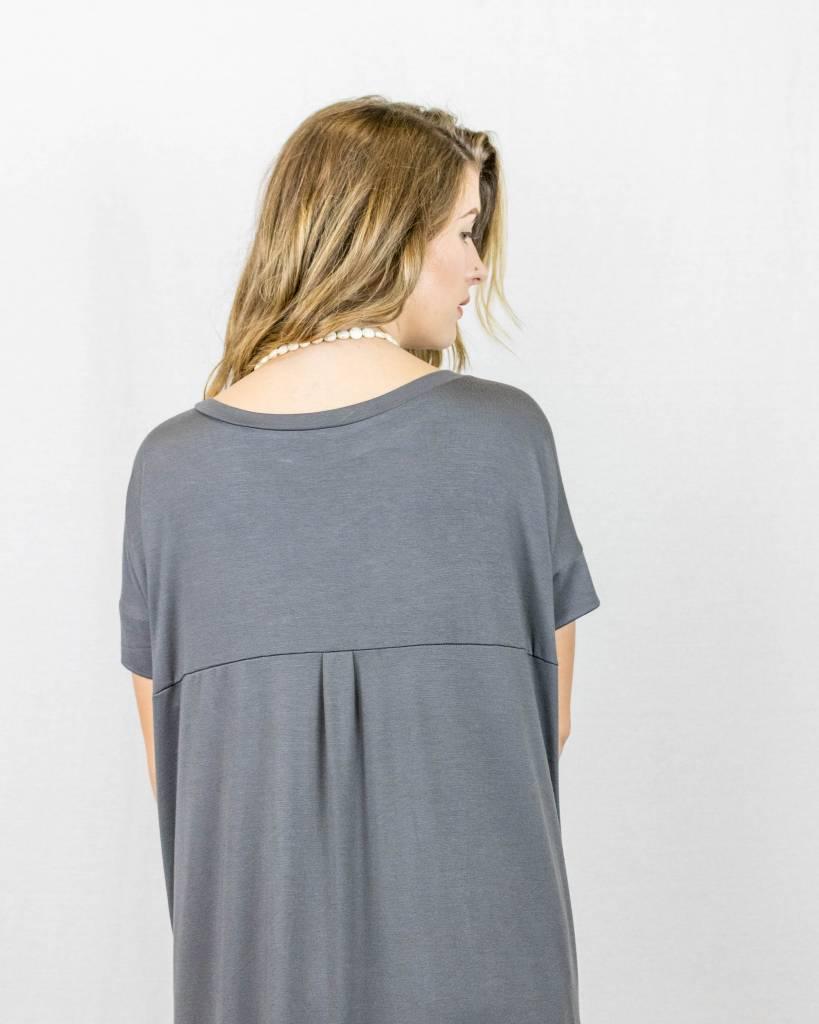 T-Shirt Maxi Dress With Slits