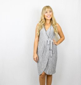 Grey Tank Wrap Dress