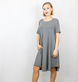 T-Shirt Pocket Swing Dress