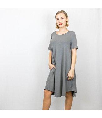 T-Shirt Pocket Swing Dress