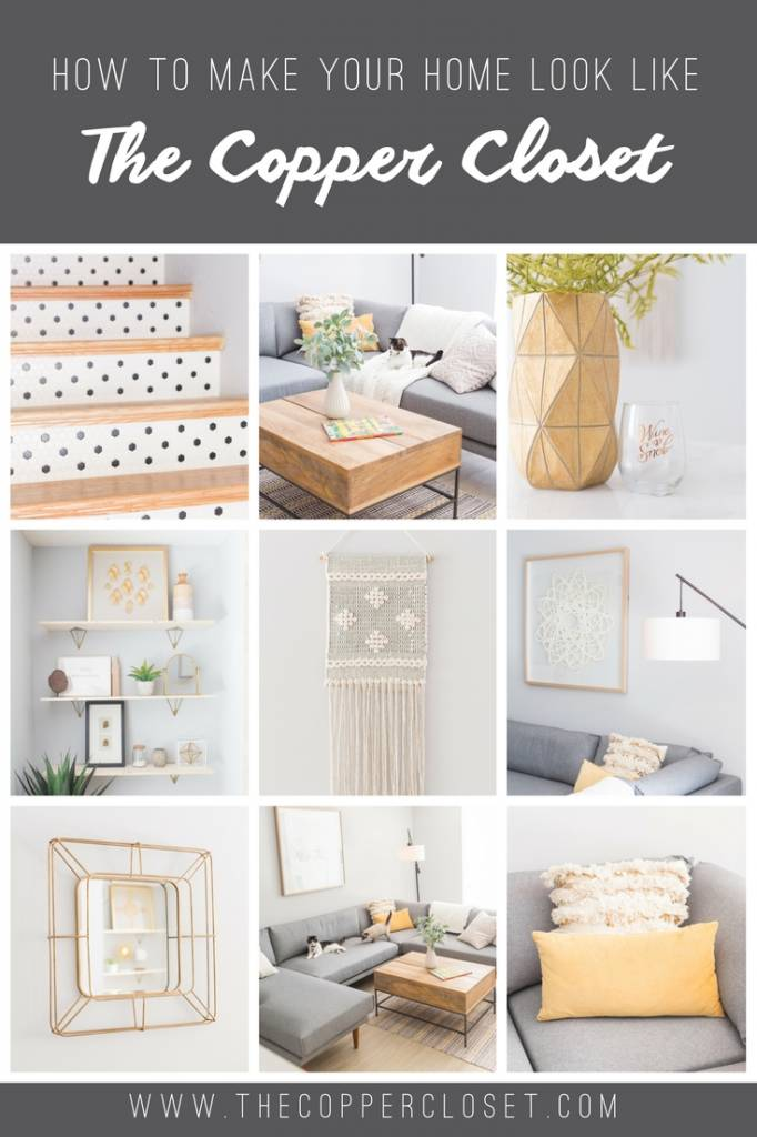 How to Make Your Home Look Like The Copper Closet