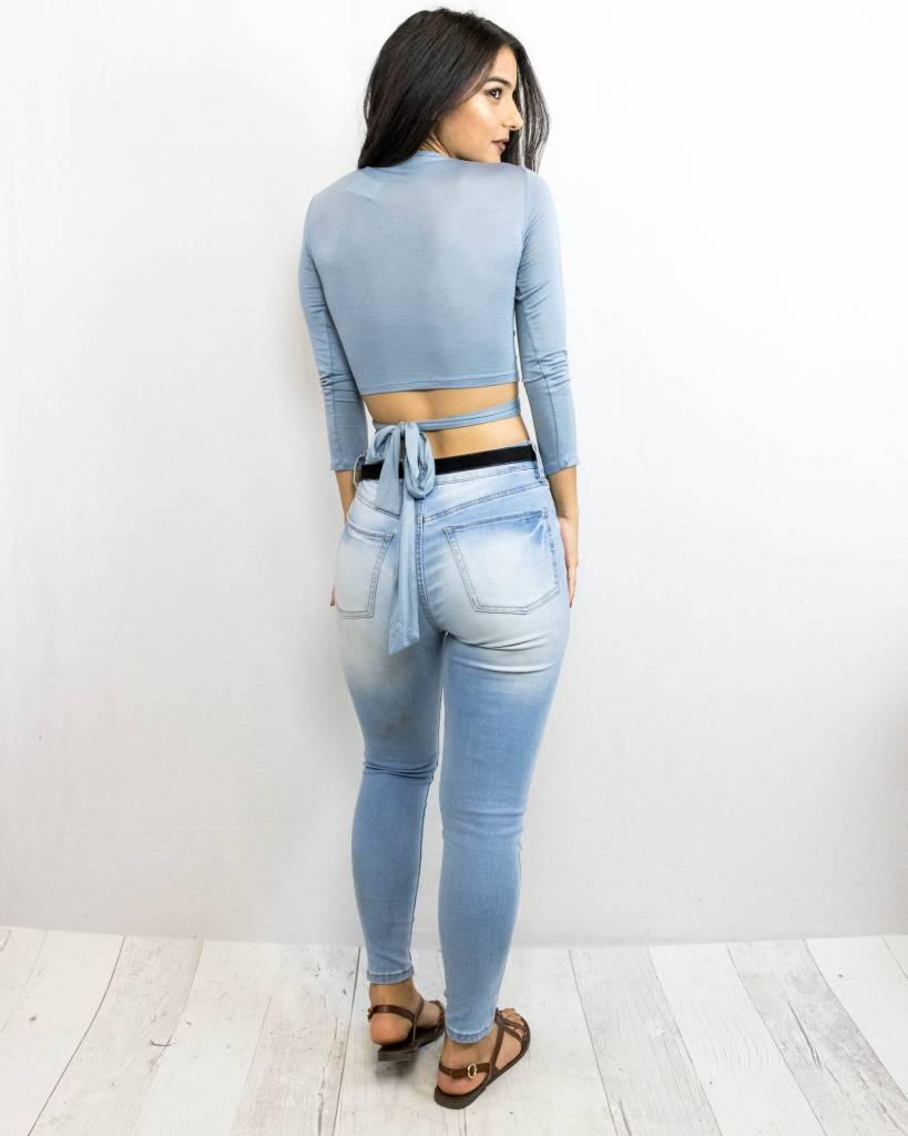 Long Sleeve Crop Top