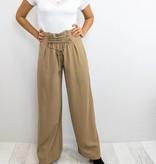 Front Lace Up Pants