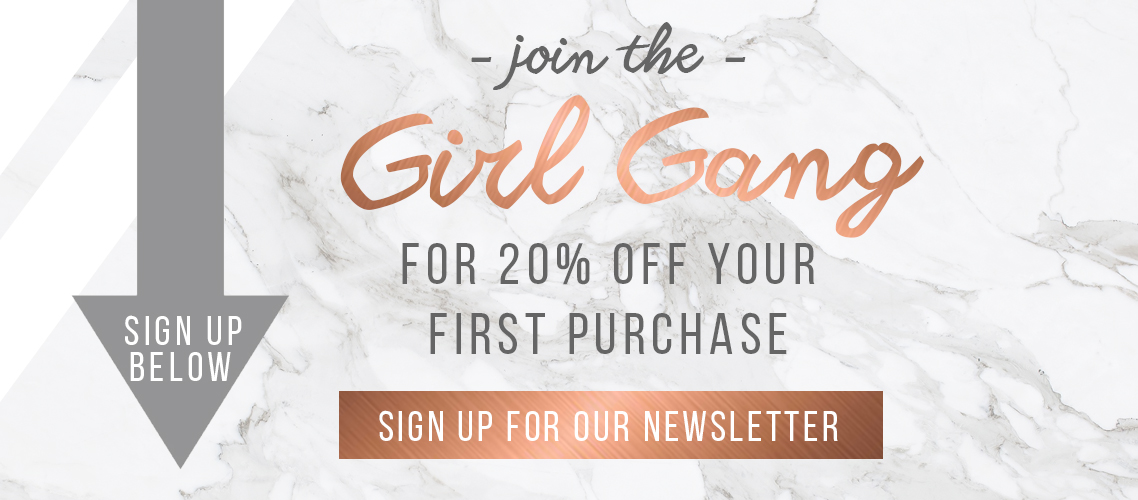 newsletter, subscription, copper closet, the copper closet, girl gang, fashion, clothing, copper closet girl gang, join newsletter